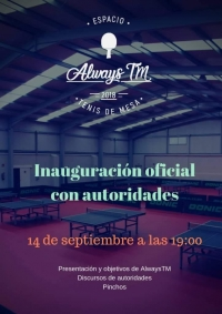 Inauguración del Club Always TM